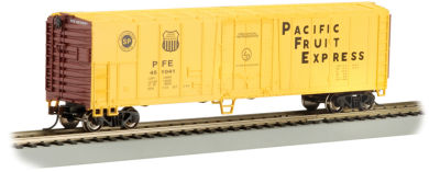 Pacific Fruit Express™ - 50' Steel Reefer (N Scale)