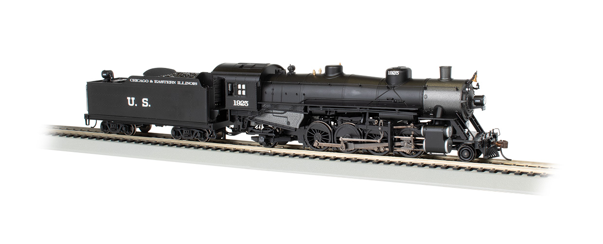 C&EI #1925 (USRA as delivered) - DCC Sound Value (HO Scale)