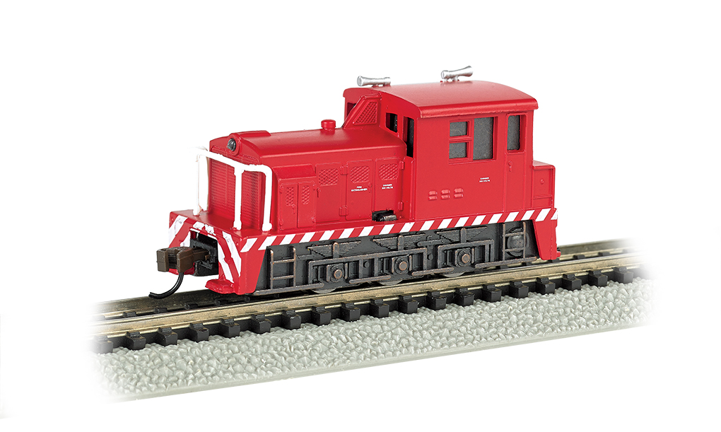 Industrial - Red with White Stripes - MDT Plymouth Switcher (N)