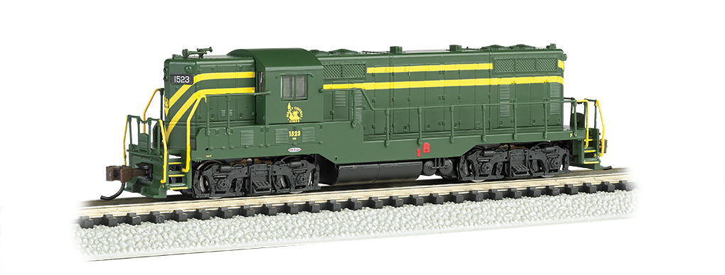 Jersey Central #1523- GP7 - DCC Equipped (N Scale)