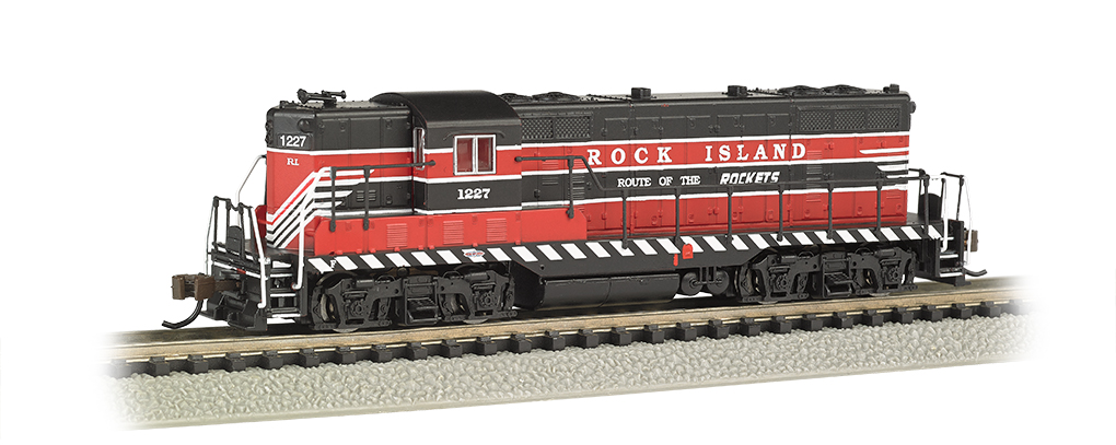 Rock Island #1227- GP7 - DCC Equipped (N Scale)