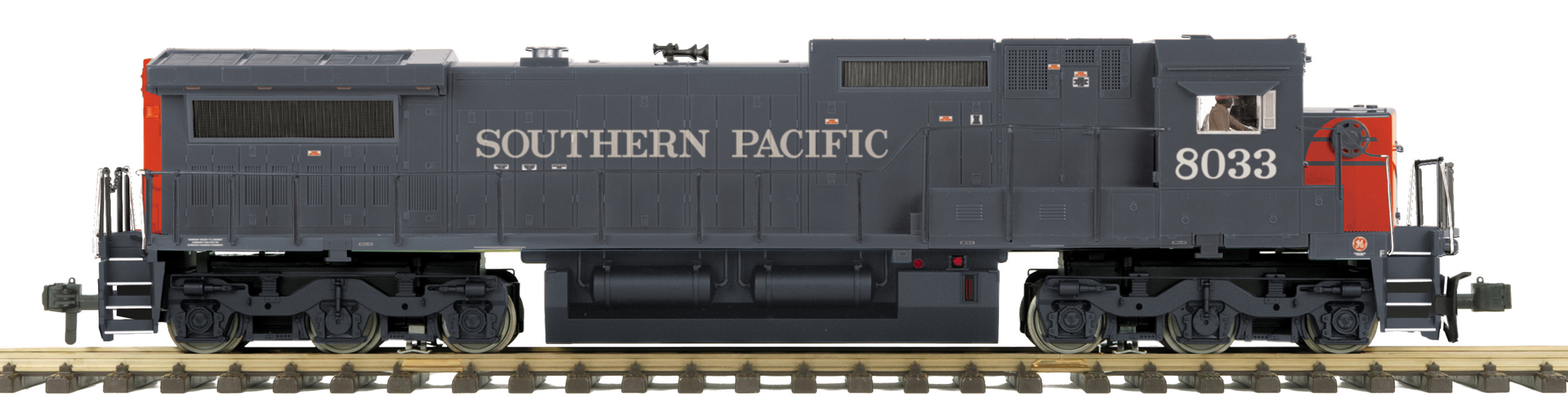 RailKing Dash-8 Diesel Engine Southern Pacific 70-2128-1