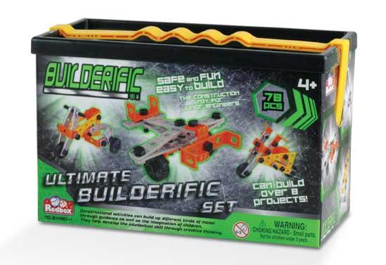 Mini Builderific Set - 78 Piece Building Set
