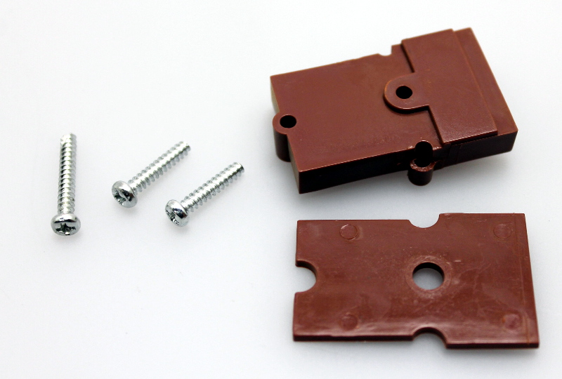 Coupler Pocket w/ screws (4PR/PK) (G Scale - Car)