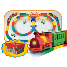 Tracktion Deluxe Train Set