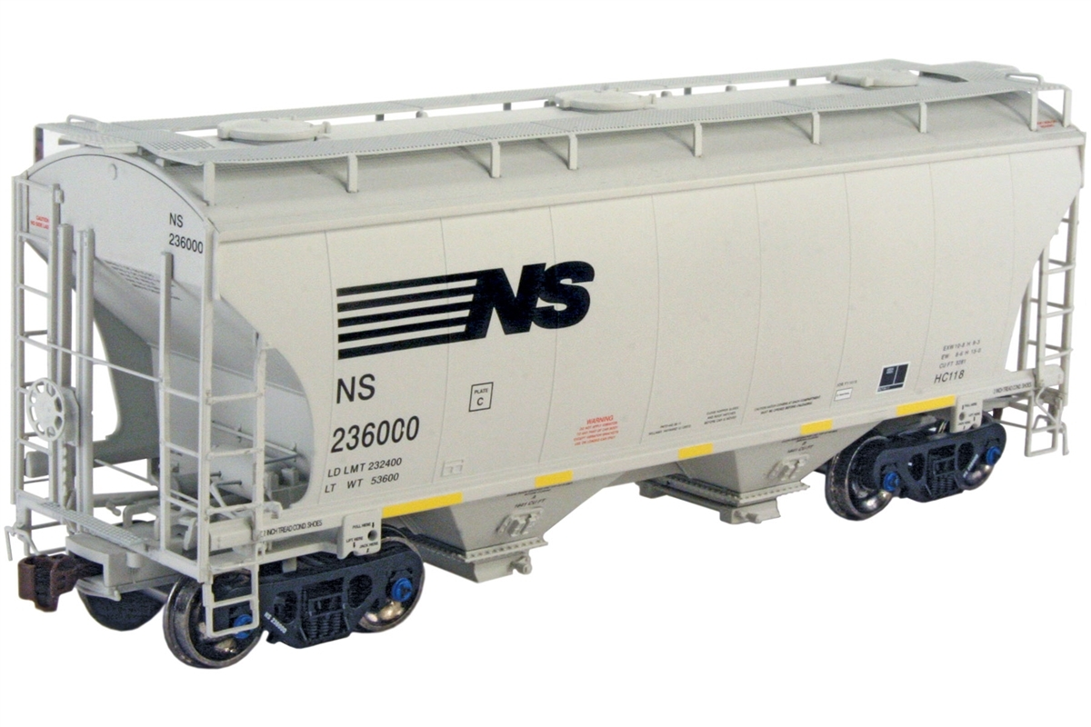 Norfolk Southern #236150 Trinity 3281 2-bay covered hopper