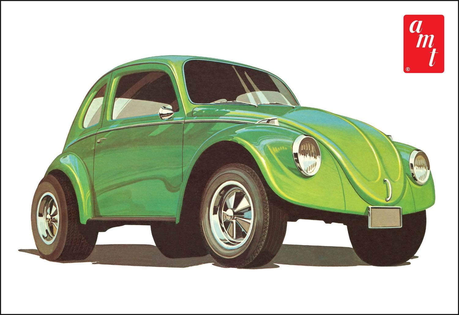 1/25 Scale VW Superbug Gasser Model Kit