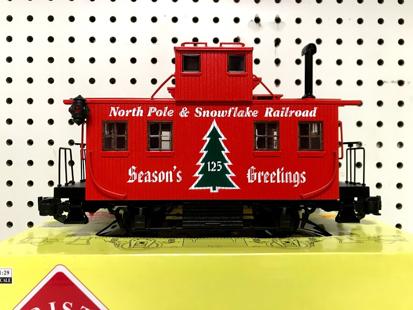 Aristocraft 21325C Christmas Bobber Caboose