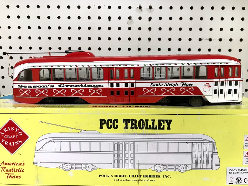 Aristocraft 23352X PCC Christmas Trolley