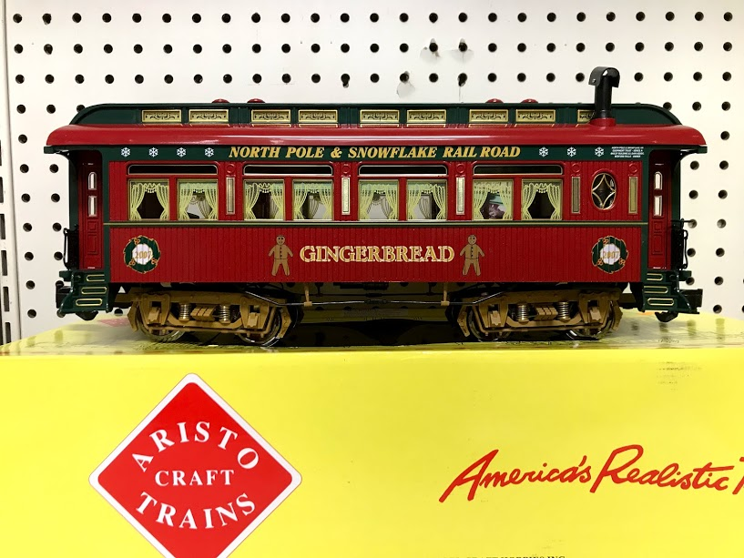 Aristocraft 31025 2007 Christmas Passenger Car