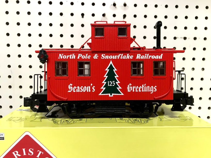 Aristocraft 42225 Christmas Bobber Caboose