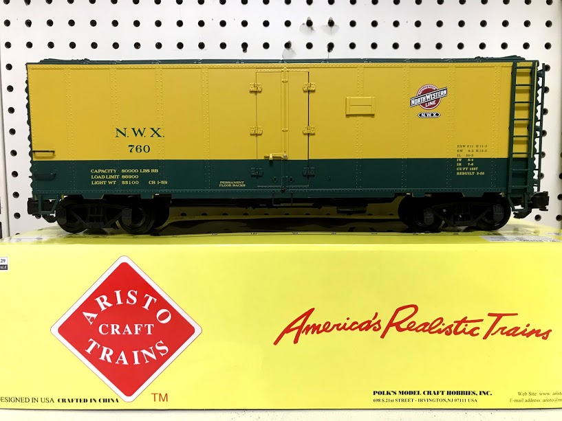 Aristocraft 46260 #760 NWX Northwestern Line Reefer