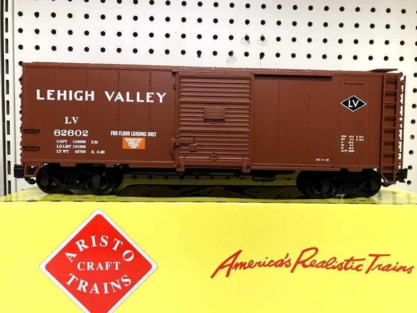 Aristocraft 46081S-2 Lehigh Valley #62602 2007 ECLSTS Reefer