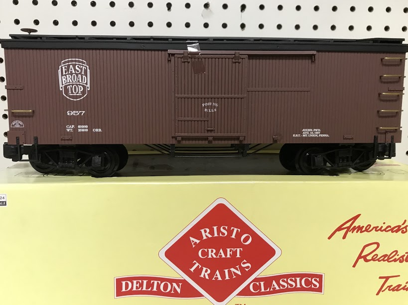 Aristocraft 86004 East Broad Top Boxcar