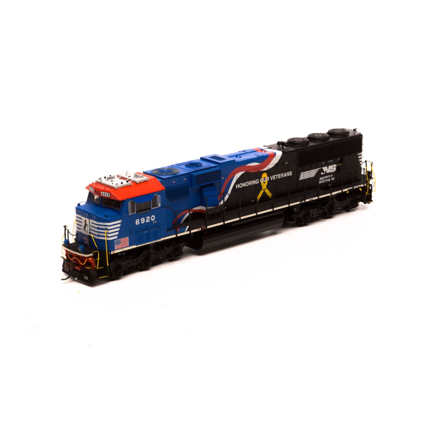 HO SD60E w/DCC & Sound,NS/Honor Our Veterans #6920