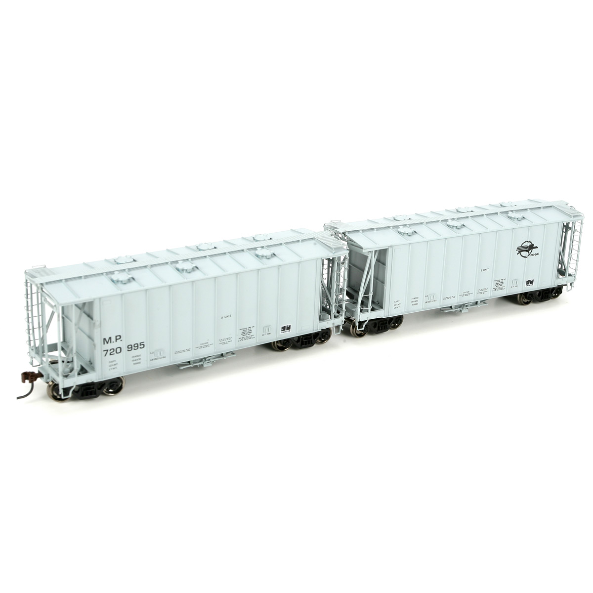HO RTR GATC 2600 Hopper Set, MP #720995 (2)