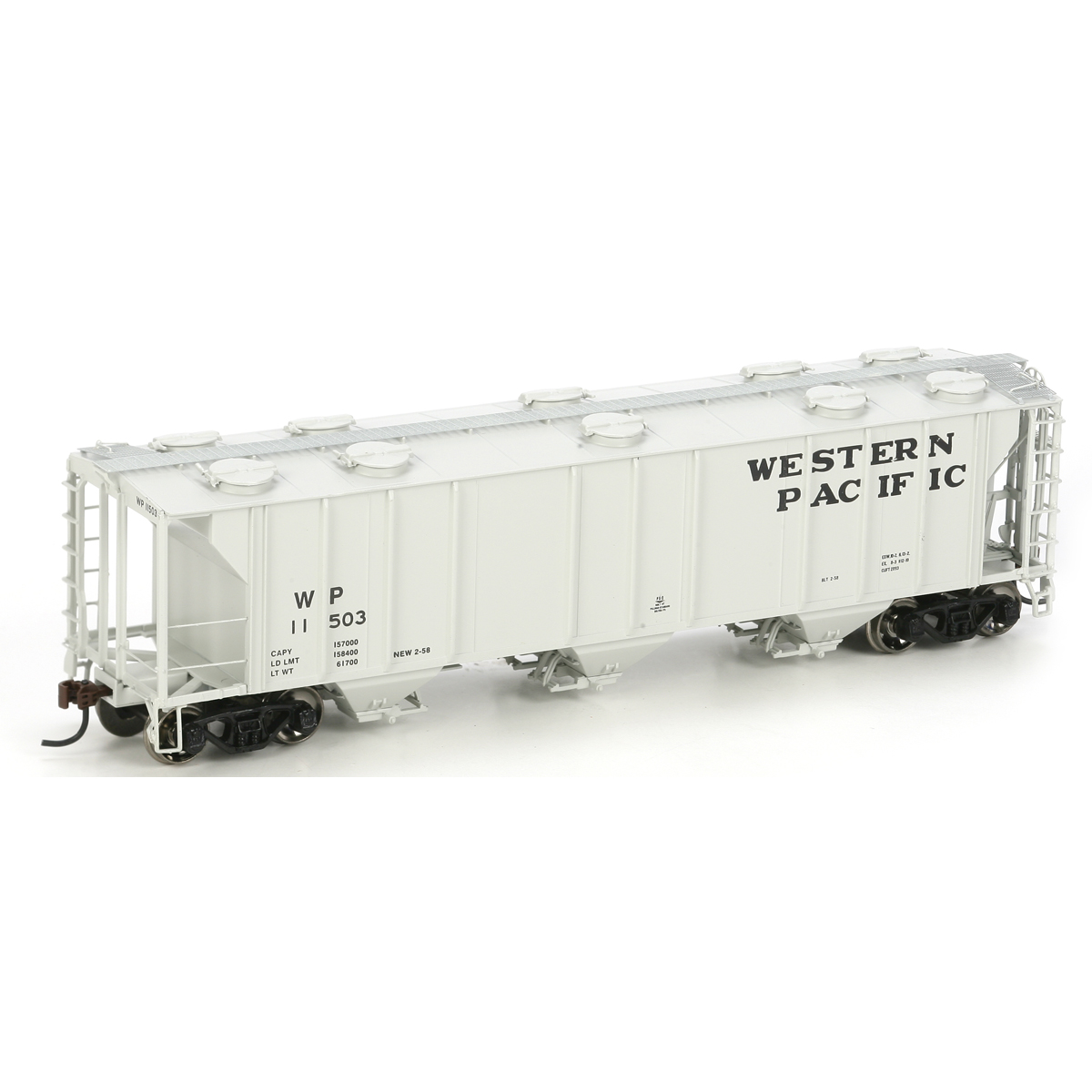 HO RTR PS-2 2893 Covered Hopper, WP #11503
