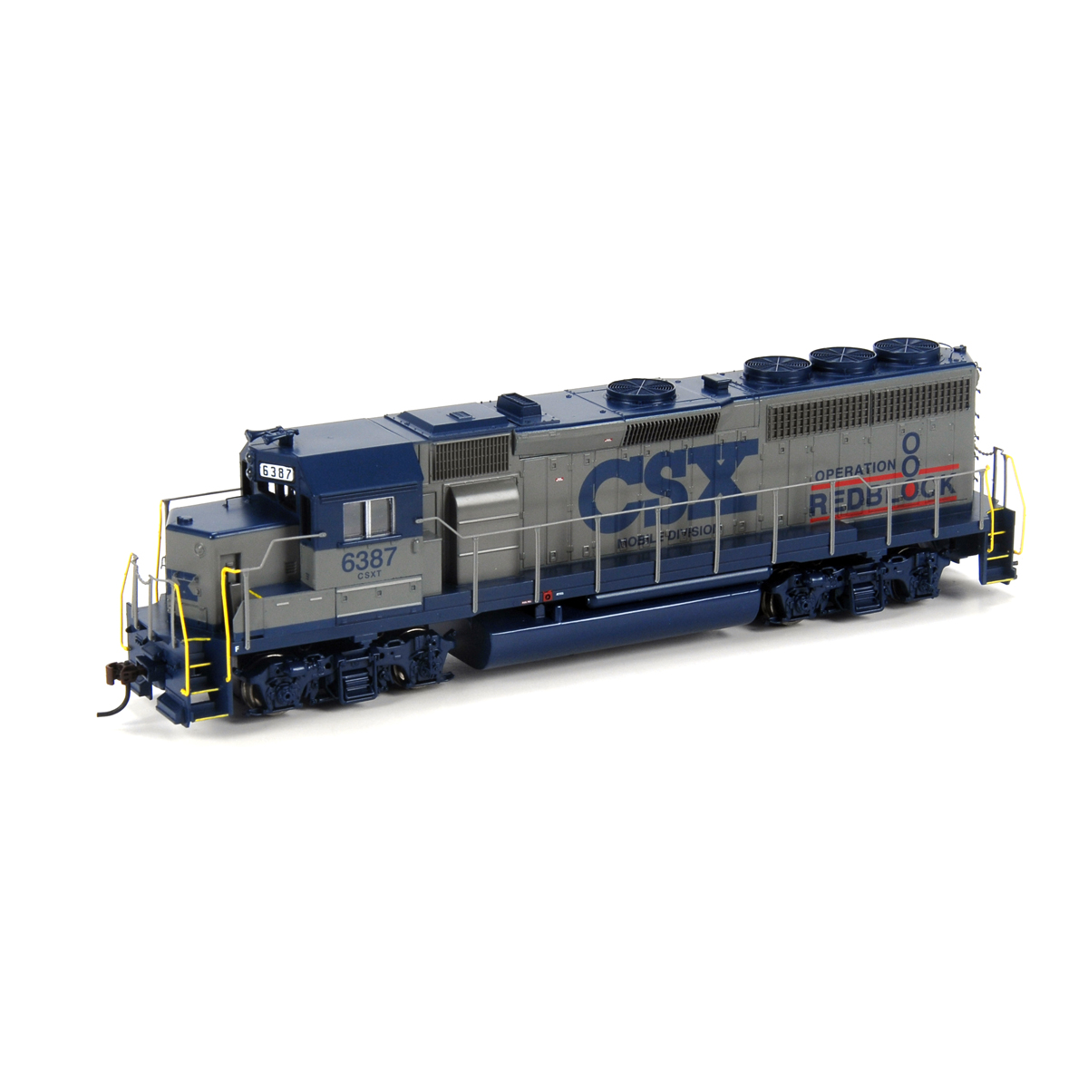 HO RTR GP40-2, CSX/Operation Redblock #6387