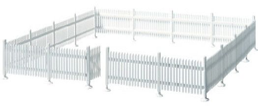 Atlas #776 Picket Fence and Gate (HO Scale)