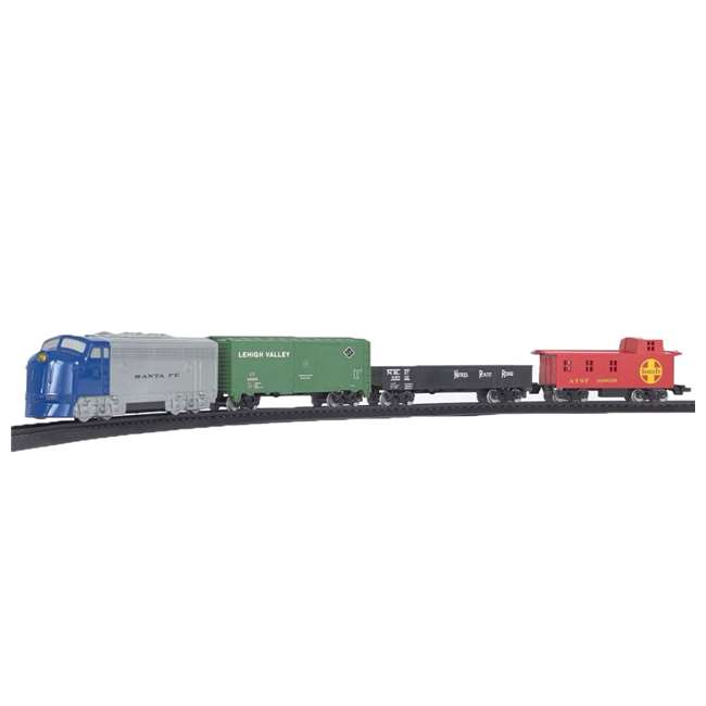 HO Scale Battery Operated Rail Champ Train Set with Sound