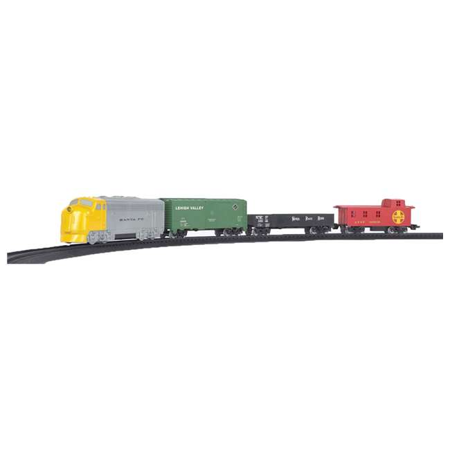 HO Scale Battery Operated Rail Express Train Set with Sound