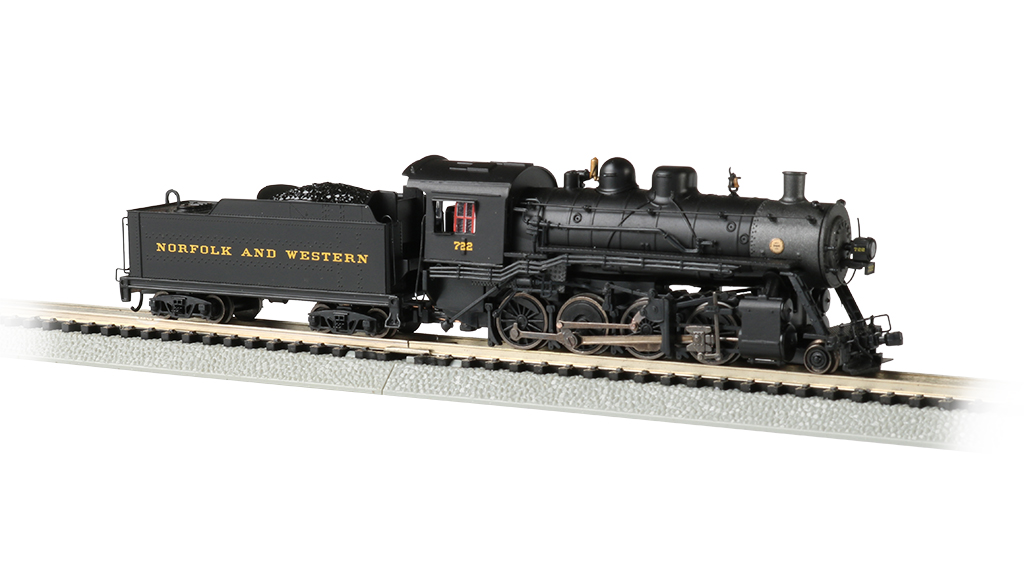 Norfolk & Western #722 - 2-8-0 Consolidation - DCC Sound Value