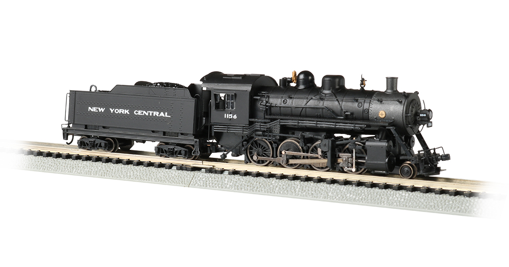 New York Central #1156 - 2-8-0 Consolidation - DCC Sound Value
