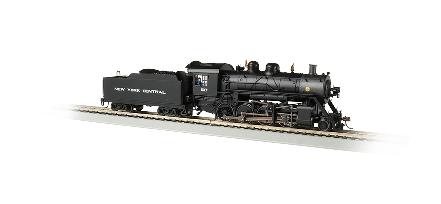 NYC® #1137 Baldwin 2-8-0 Consolidation - DCC Sound Value