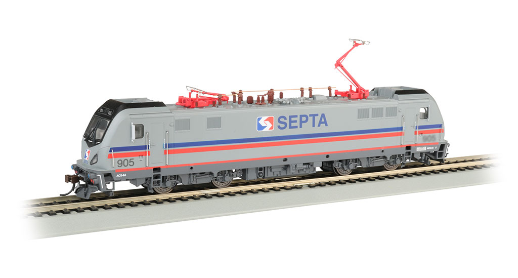 SEPTA 905 - SIEMENS ACS-64 - DCC SOUND (HO SCALE)