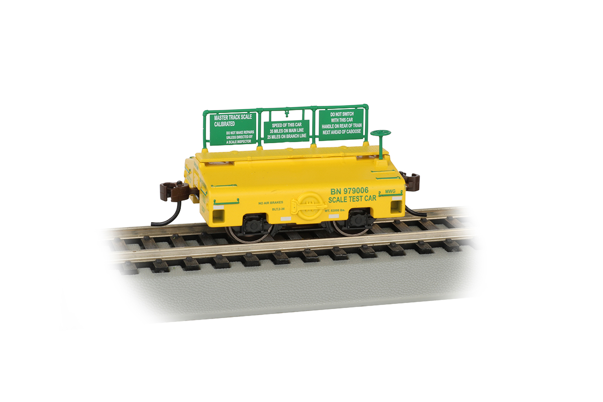 Burlington Northern - Test Weight Car (HO Scale)