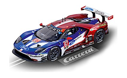 "No.23875 Ford GT Race Car ""No.67"", Digital 1/24 w/Lights"