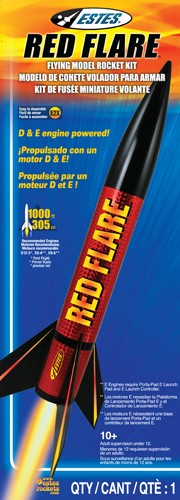 No.1954 Red Flare