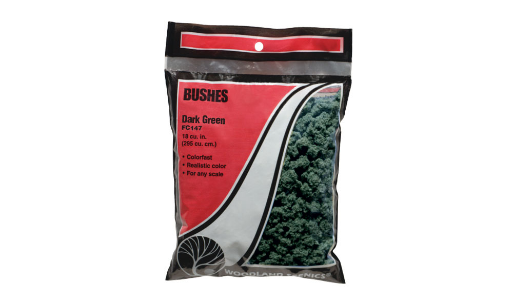 Bushes Dark Green Bag