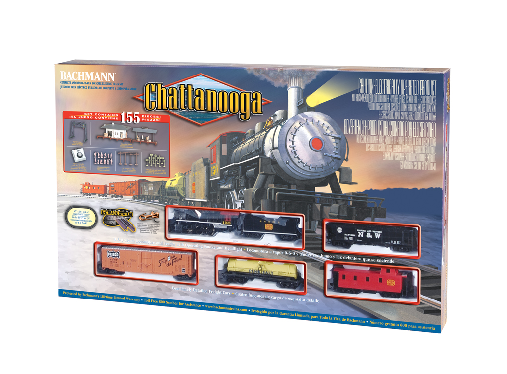 Chattanooga (HO Scale) - Click Image to Close