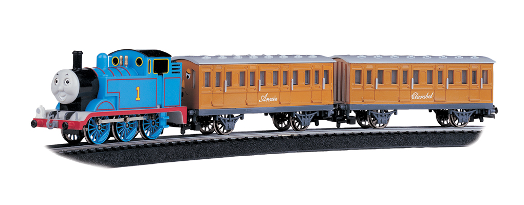 Thomas with Annie and Clarabel Set (HO Scale)
