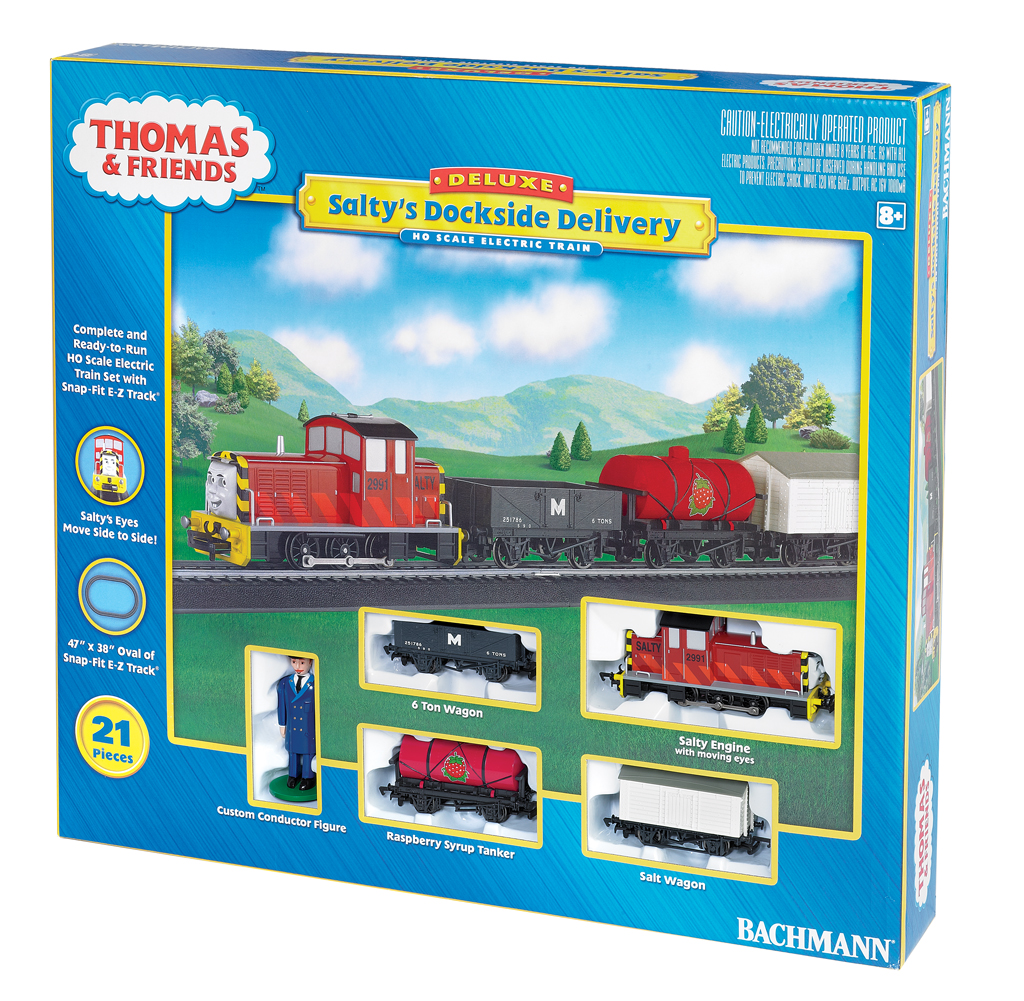 Salty's Dockside Delivery (HO Scale)
