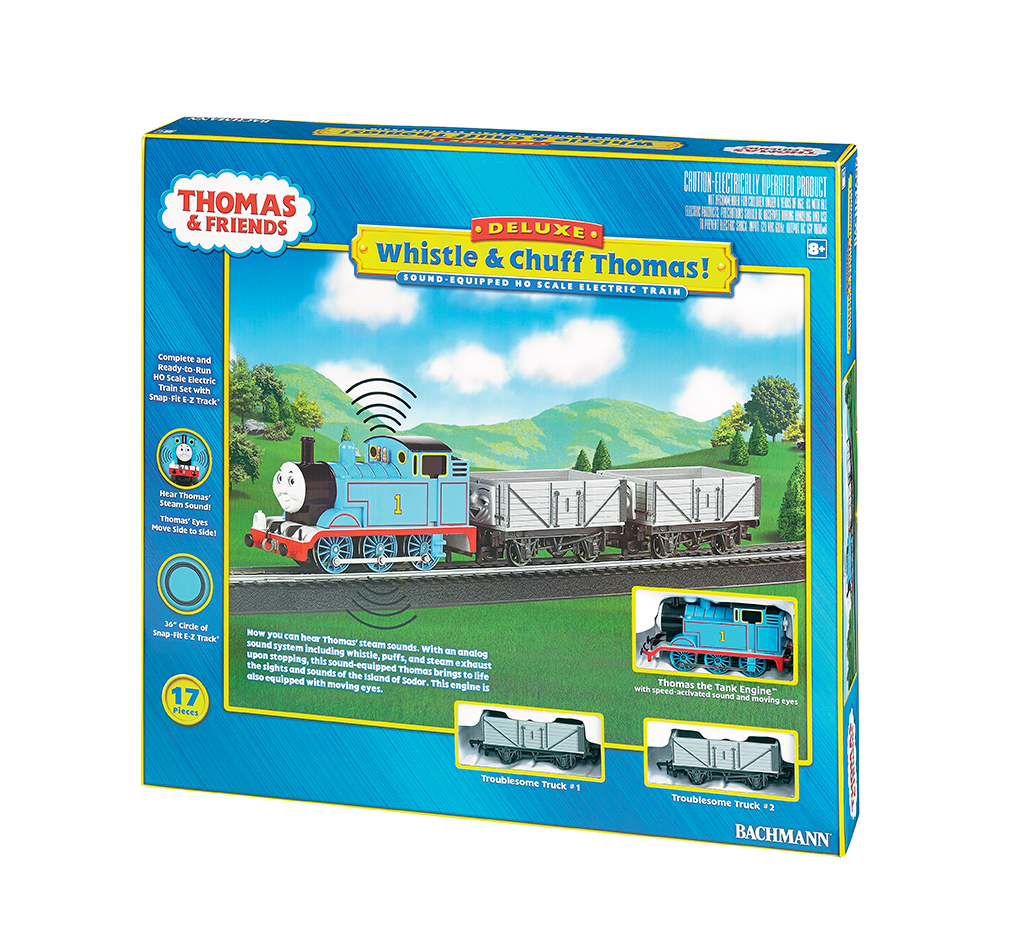 Whistle & Chuff Thomas! - HO Scale Train Set