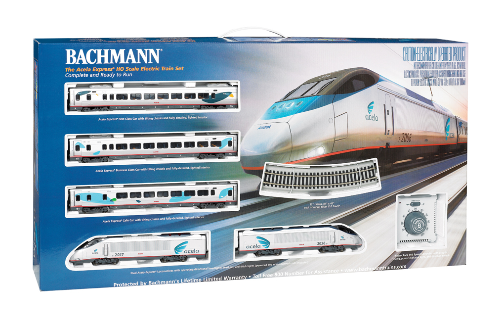 Acela Express® Set (HO Scale)
