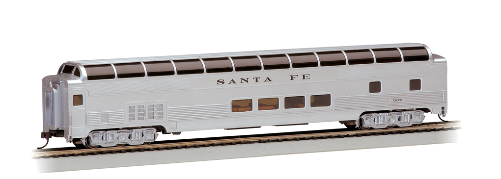 Santa Fe - 85' BUDD Full Dome (HO Scale)