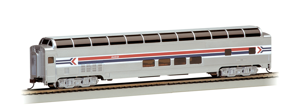 Amtrak Phase I - 85' BUDD Full Dome (HO Scale)