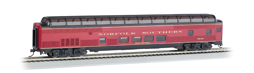 Norfolk Southern - 85' BUDD Full Dome (HO Scale)