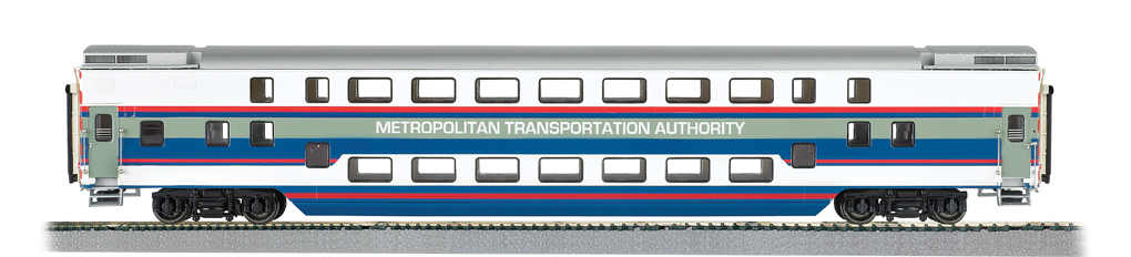 MTA - Double Deck Commuter Car (HO Scale)