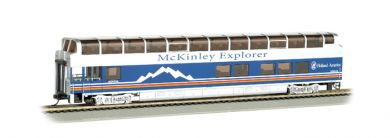McKinley Explorer Nenana 1055 - 89' Colorado Railcar Full-Dome