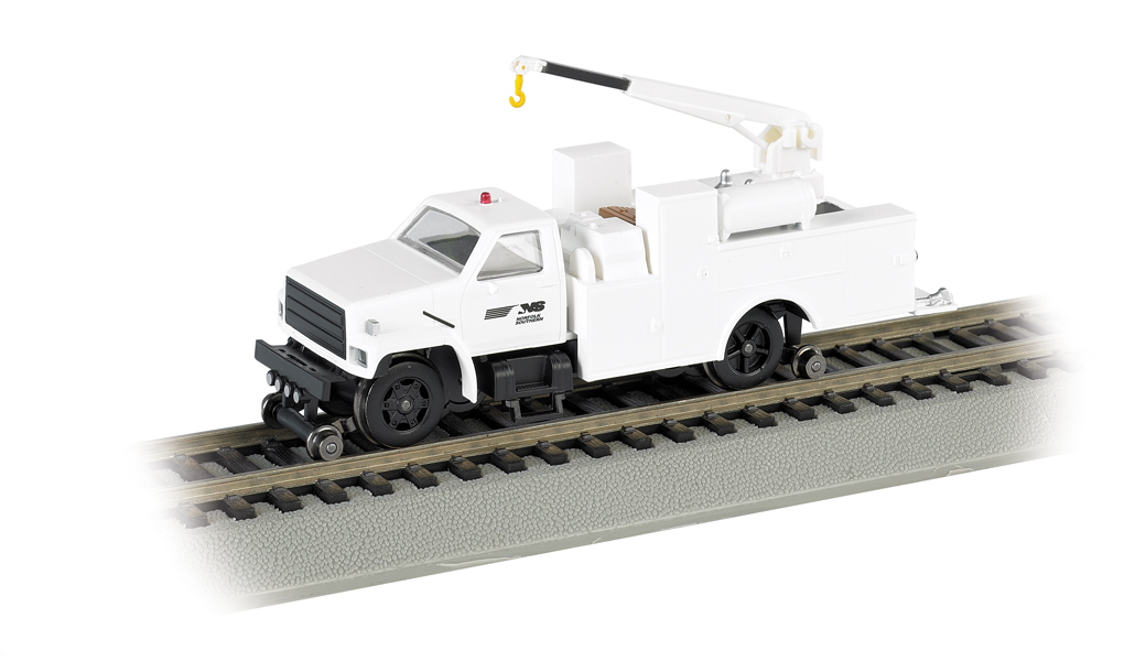 Norfolk Southern - Hi-rail Equipment Truck w/ crane - DCC (HO)