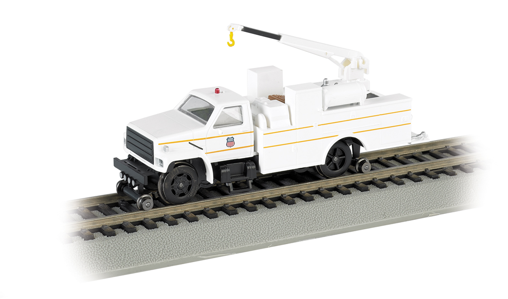 Union Pacific® - Hi-rail Equipment Truck w/ crane - DCC (HO)