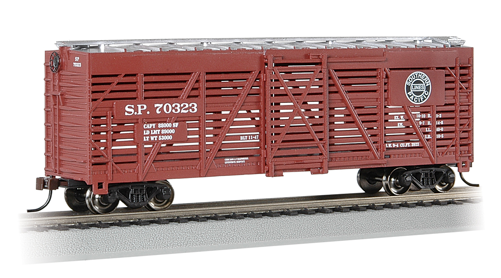 Southern Pacific™ - 40' Stock Car (HO Scale)