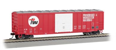 Providence & Worcester - ACF 50.5' Outside Braced Box Car