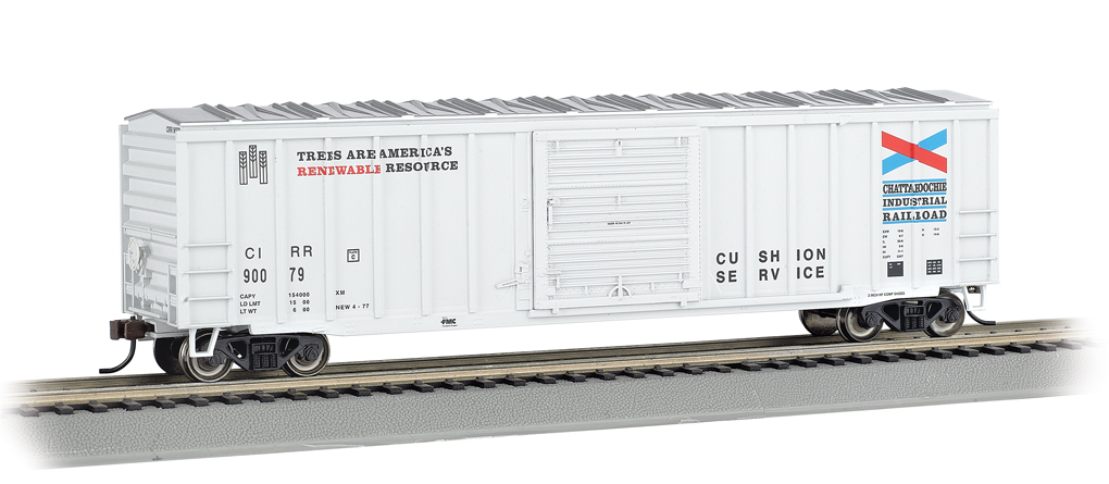 Chattahoochee - ACF 50.5' Outside Braced Box Car (HO Scale)