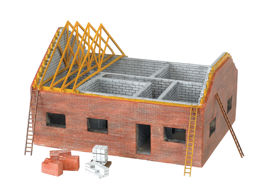 Residential Building Site (HO Scale)