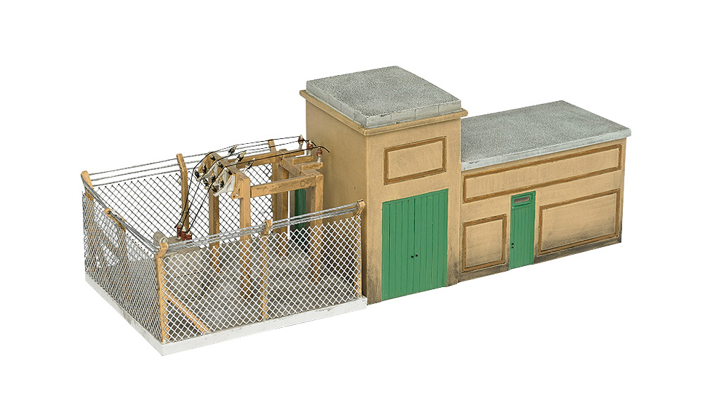 Electrical Substation (HO Scale)